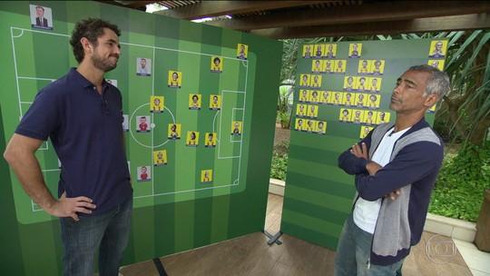 Duelo dos Sonhos: Romário brinca ao falar de demora para estar na lista de 94