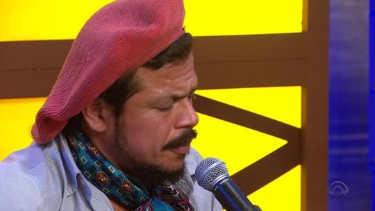 Raineri Spohr foi atração do 'Galpão Crioulo'; confira o vídeo gravado com exclusividade para o site