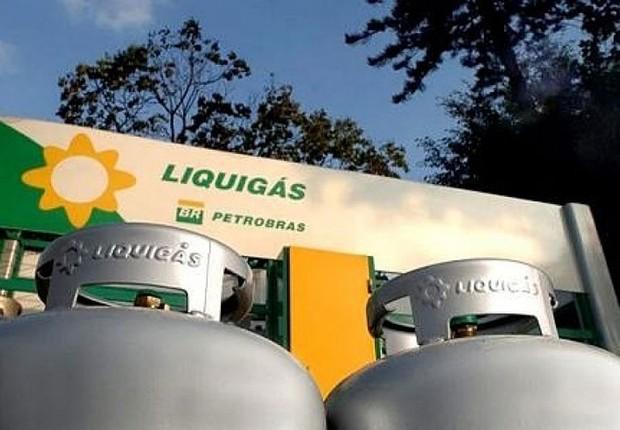 Botijões de gás da Liquigás (Foto: Divulgação)