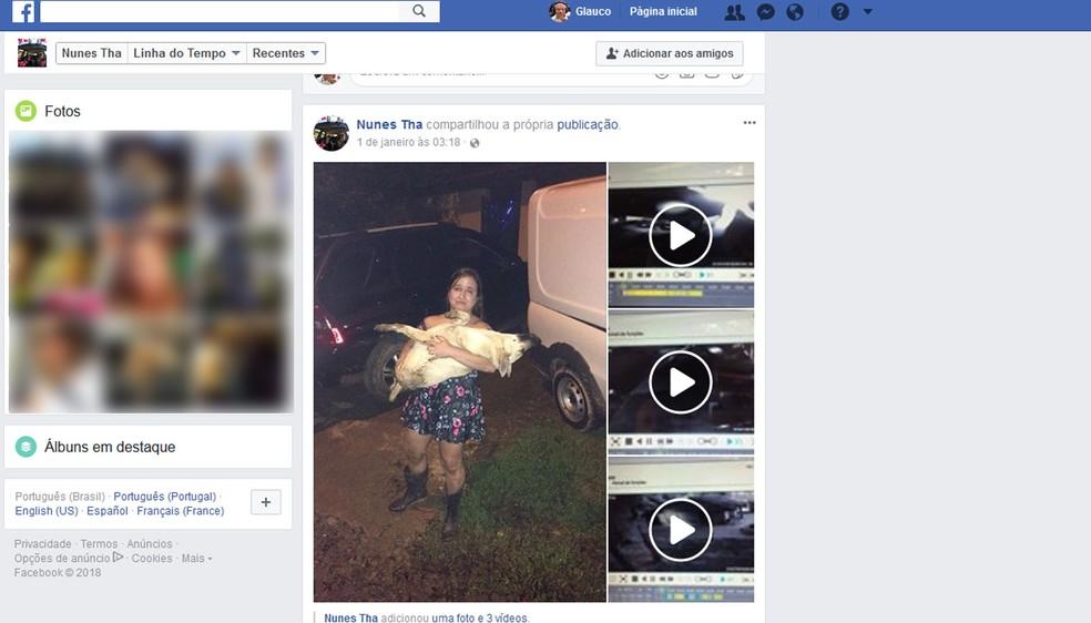 Thais Siqueira fez um post no Facebook relatando o ocorrido e a história viralizou. (Foto: Reprodução/Facebook)