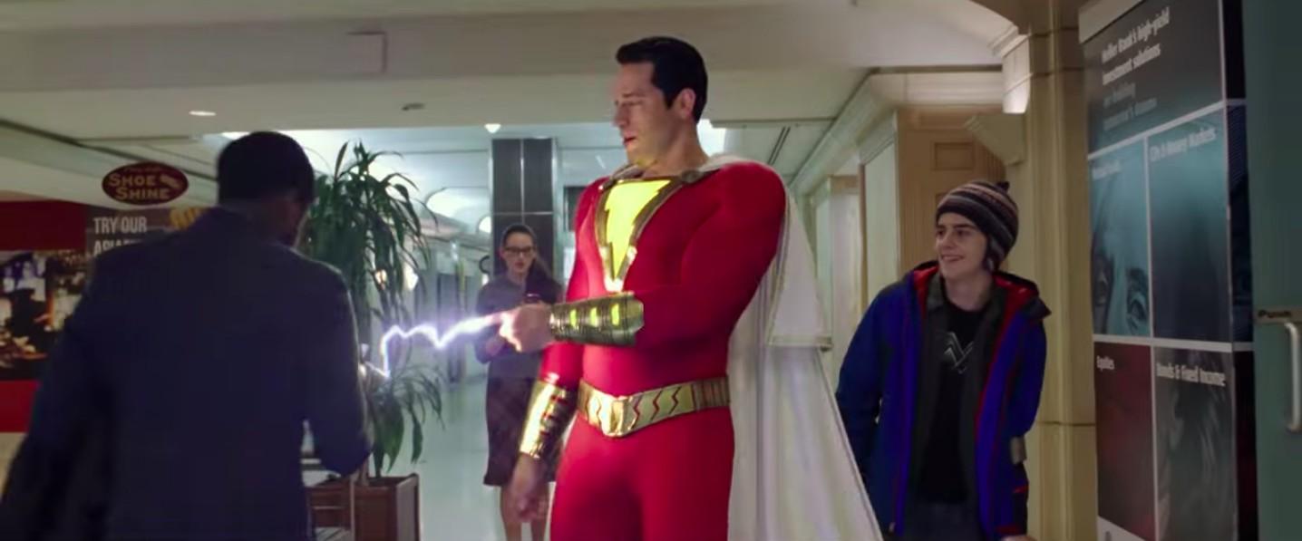 Zachary Levi como Shazam! (Foto: Divulgação)