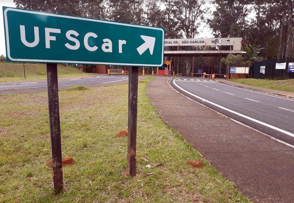 Universidade Federal de São Carlos (UFSCar) — Foto: Fabio Rodrigues/G1