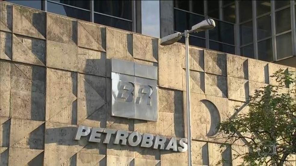 Sede da Petrobras no Rio de Janeiro — Foto: Reprodução/JN