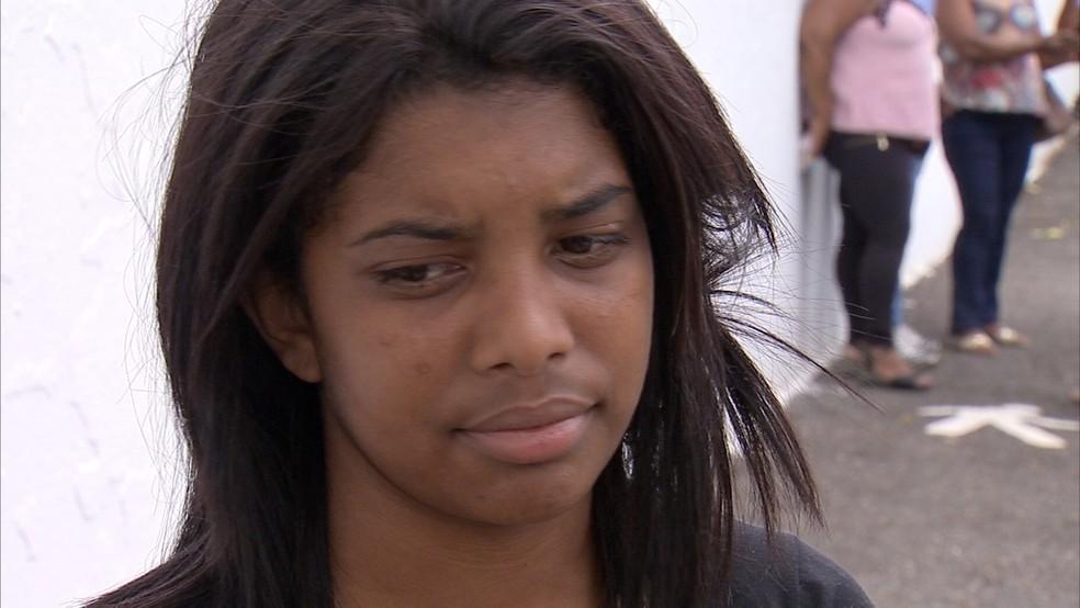 Filha de Elizangela afirma que suspeito não aceitava fim do relacionamento — Foto: Reprodução/TV TEM