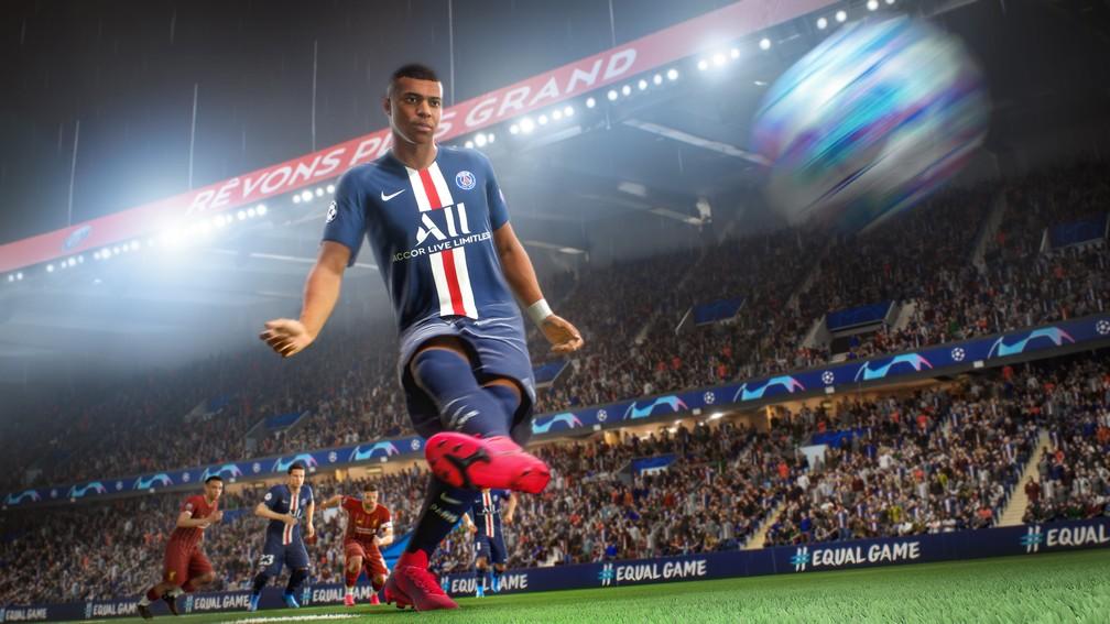 Mbappé no FIFA 21 — Foto: Divulgação / EA Sports