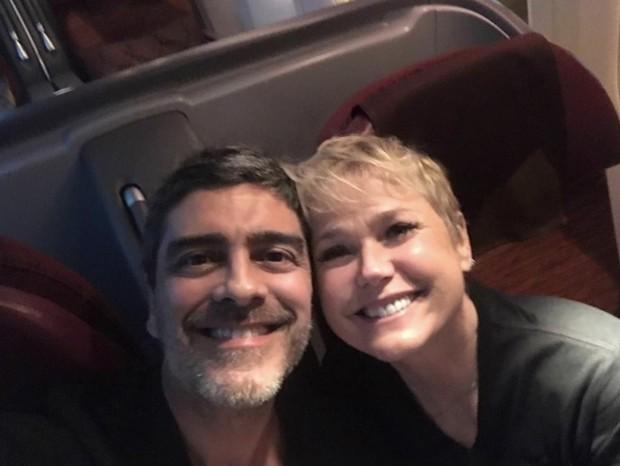 Junno Andrade e Xuxa (Foto: Reprodução/Instagram)