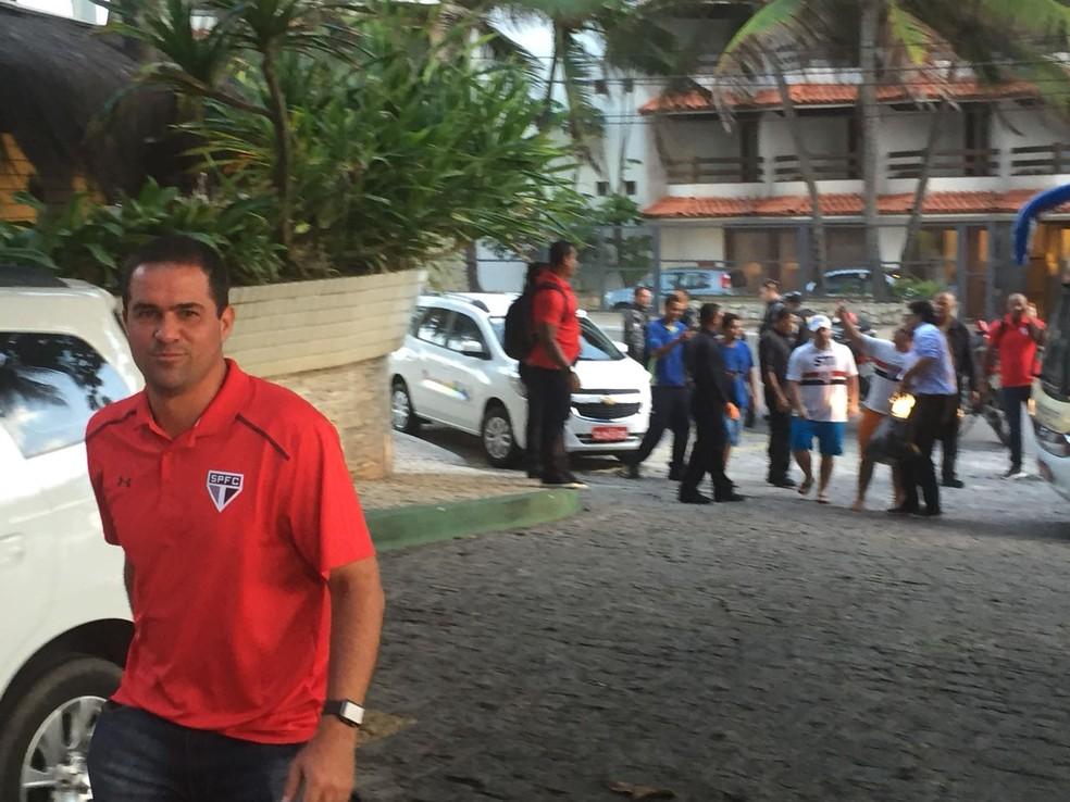 André Jardine vai treinar o time do São Paulo em Maceió (Foto: Marcelo Hazan)