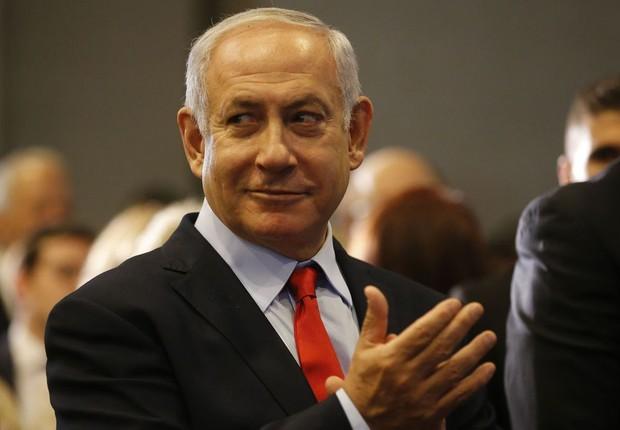 Benjamin Netanyahu no Rio de Janeiro (Foto: Tânia Rêgo/Agência Brasil)