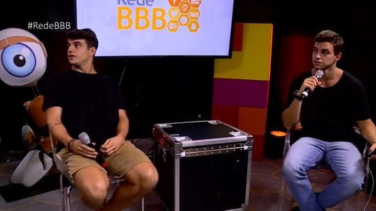 Antônio e Manoel participam da Mesa-Redonda BBB e falam sobre Gran Hermano e affairs