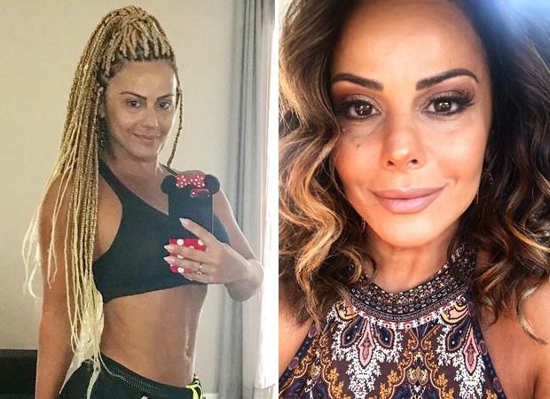 Viviane Araújo colocou tranças no começo do ano (Foto: Reprodução/Instagram)