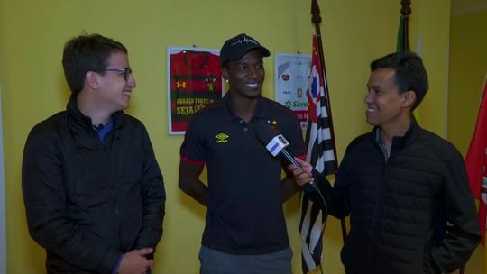 Sorte? Em Sorocaba, Hyuri lembra golaço pelo Sport e projeta jogo com Ponte Preta