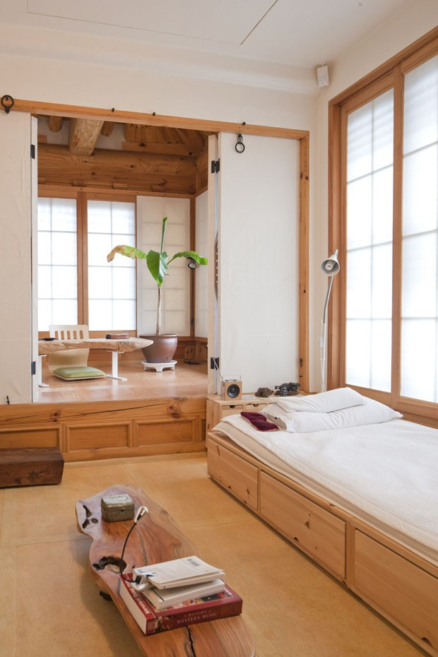 Hanok em Seul (Foto: Marcel Lam / The New York Times)