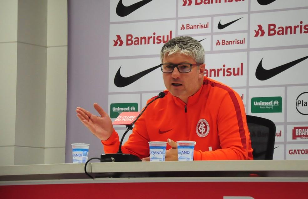 Odair Hellmann é novo técnico do Inter (Foto: Eduardo Deconto)