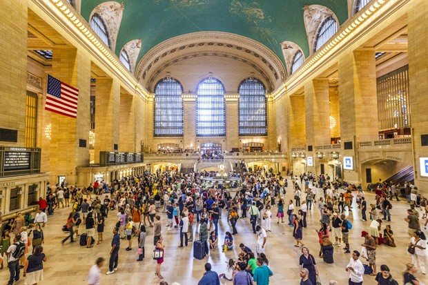 New Yoprk, USA - July 10, 2010: passengers walking at Grand Central station. Grand Central is the second busiest station of the New York City Subway system with 42,002,971 passengers in 2009. New York City. (Foto: Getty Images)