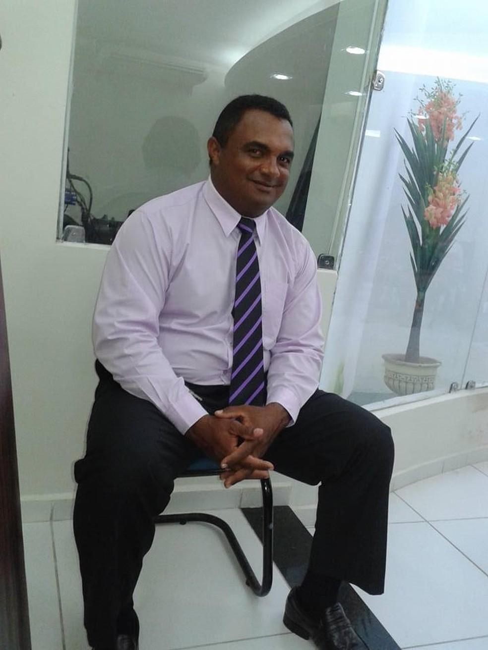 Ivo Aguiar era motorista da Câmara Municipal de Santo Antônio — Foto: Arquivo pessoal