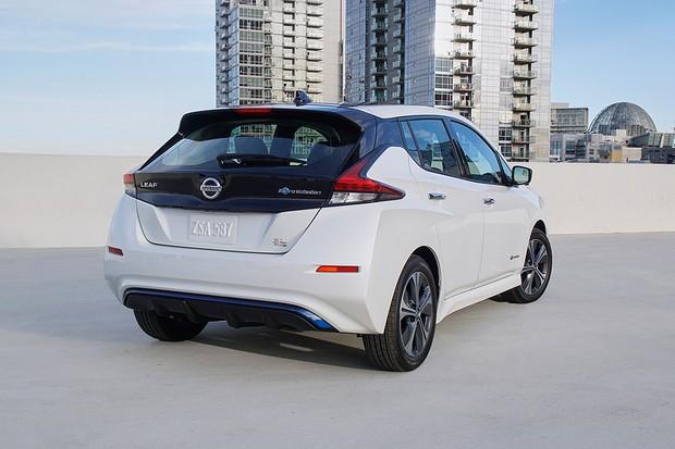 Nissan Leaf e+ (Foto: Divulgação)