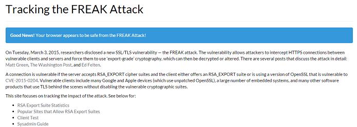 Site Freak Attack mostra detalhes do vírus (Foto: Reprodução/Thiago Barros)