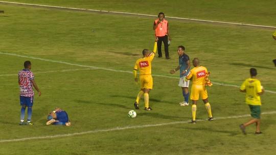 Por expulsão em jogo da Copa Verde, Kayo Fernando é denunciado pelo STJD