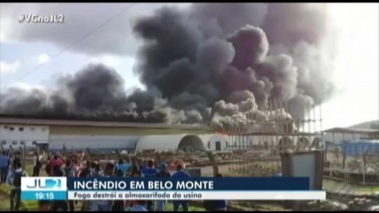 Incêndio em usina de Belo Monte é controlado, diz Comando do Corpo de Bombeiros