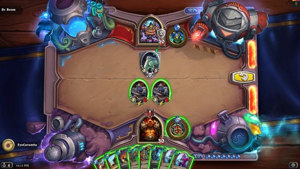 O jogo de cartas traz personagens de World of Warcraft — Foto: Divulgação/Blizzard