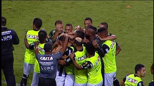 """João Vitor valoriza ponto do Figueira fora: """"O importante era não perder"""""""