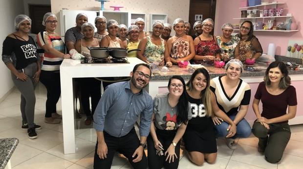 Projeto Fundação Casa Grande, realizado na cidade de Nova Olinda para Planejamento Estratégico da CDL Jovem (Foto: Arquivo Pessoal)