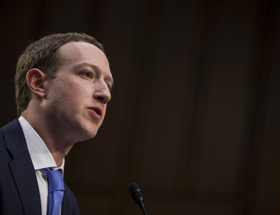 Mark Zuckerberg, fundador do Facebook (Foto: Zach Gibson/Getty Images)
