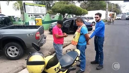 Mototaxista é preso durante o trabalho suspeito de estupro de vulnerável