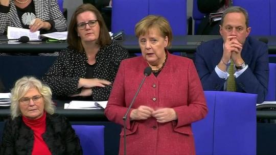 Merkel diz que novo governo pode dificultar acordo entre Mercosul e UE