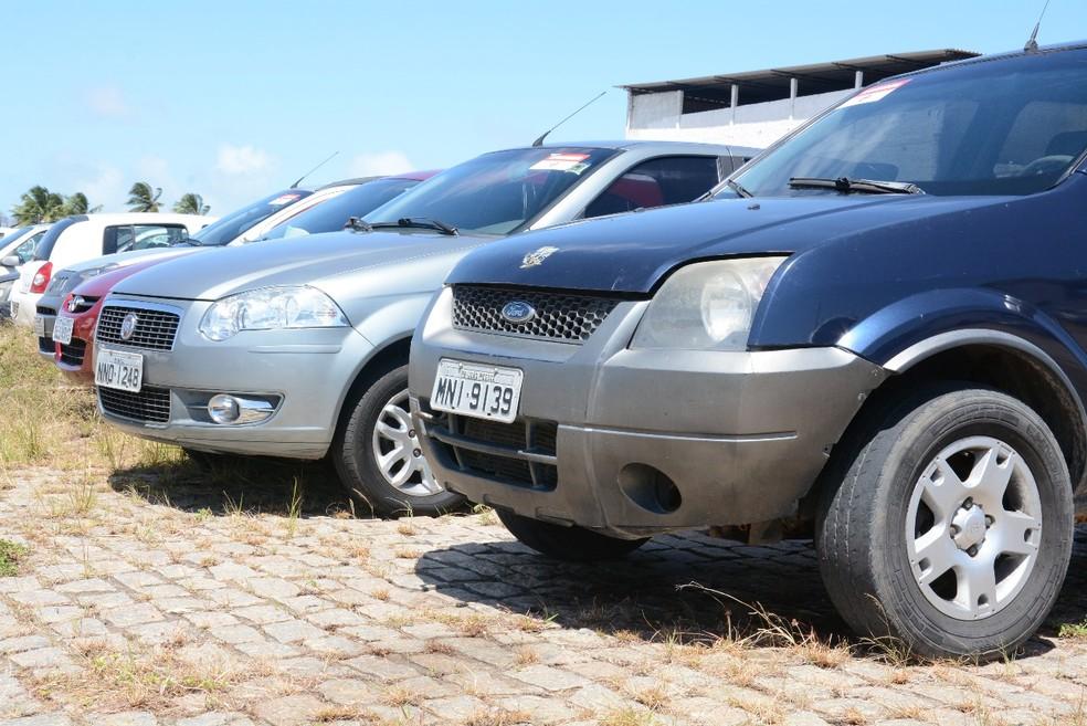 Veículos serão leiloados pelo Detran no RN — Foto: Detran/Divulgação