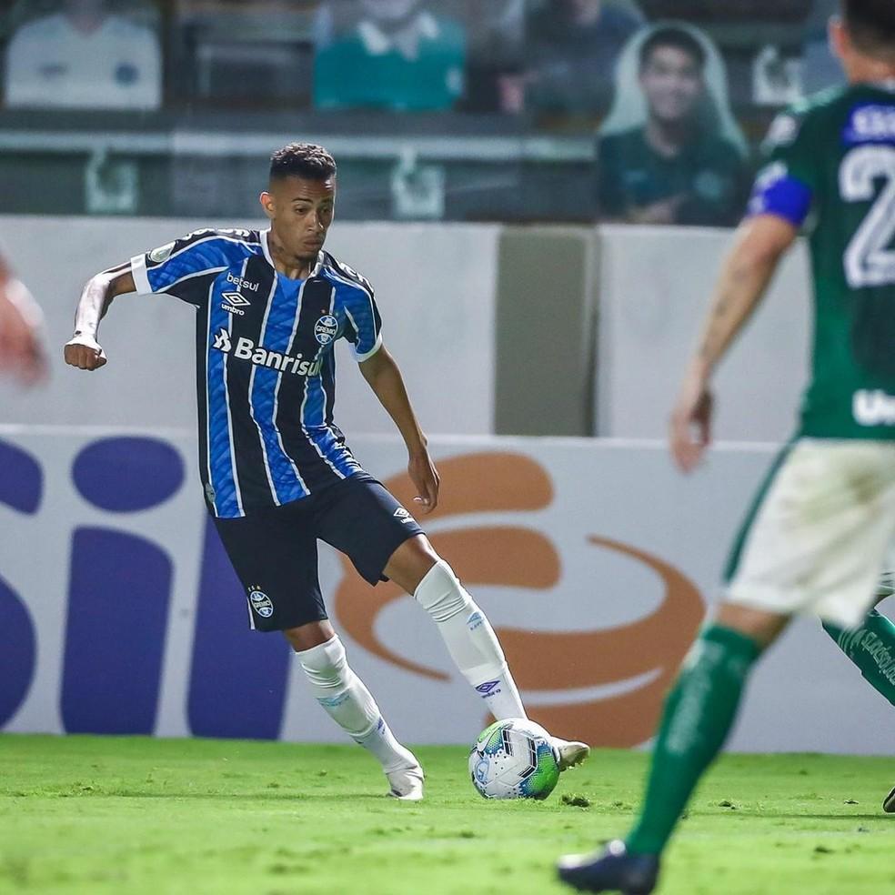 Patrick em ação pelo Grêmio — Foto: Lucas Uebel/Grêmio