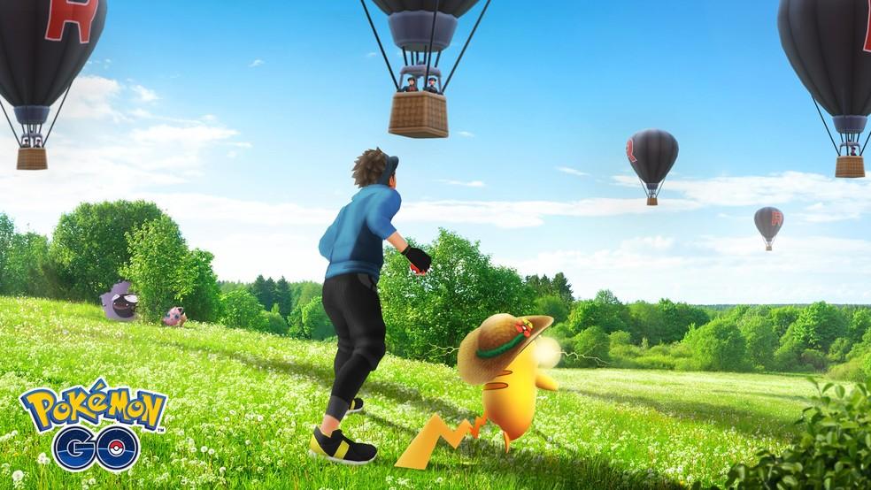 Equipe Rocket em Pokémon GO