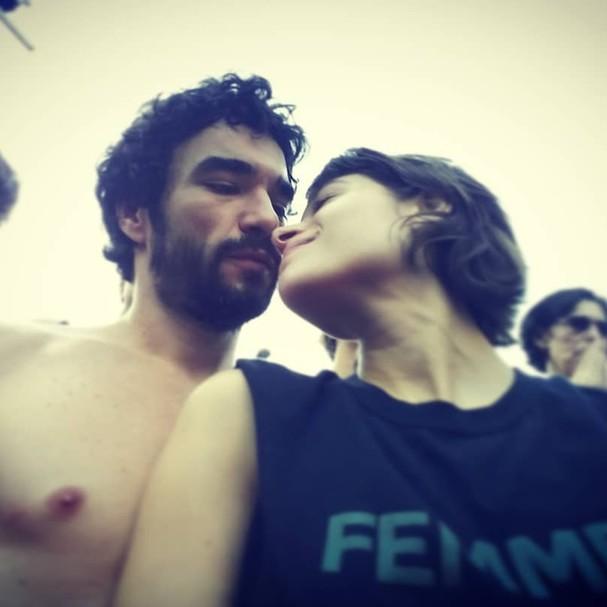 caio blat e Luisa  (Foto: Instagram/Reprodução)