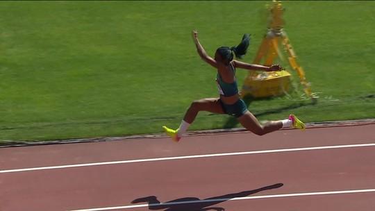 Prata! Mirieli Estaili é vice-campeã mundial sub-20 no salto triplo