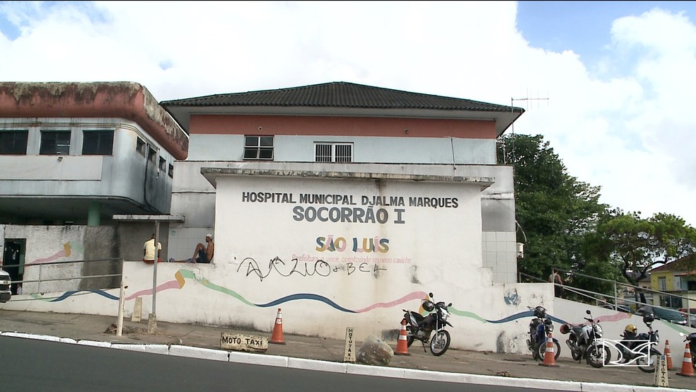 Hospital Municipal Djalma Marques, o Socorrão 1, em São Luís — Foto: Reprodução/TV Mirante