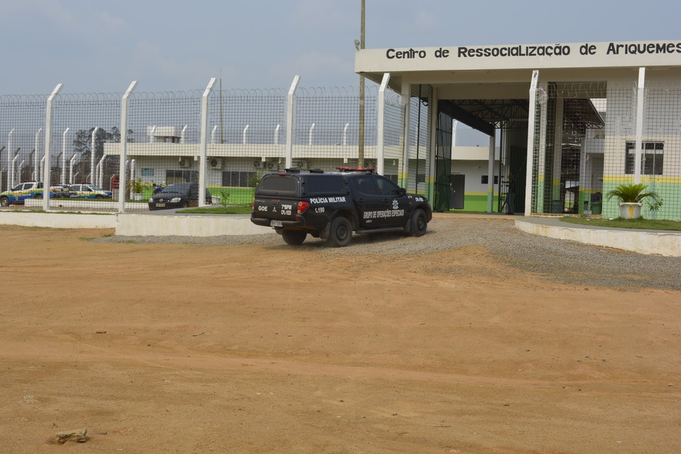 Acusado está preso em Ariquemes (Foto: Jeferson Carlos/G1)