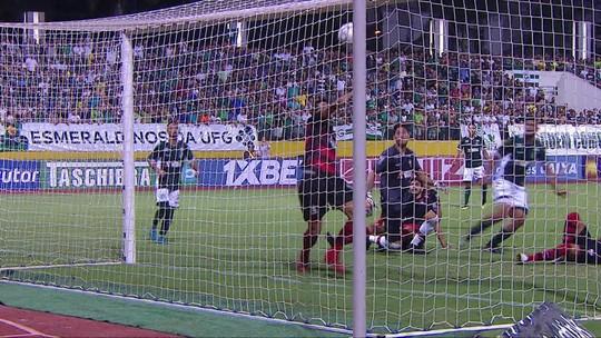Os gols de Goiás 2 x 1 Atlético-GO pela 27ª rodada do Brasileirão Série B