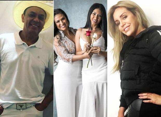 Frank Aguiar; Simone e Simaria; Renata Banhara (Foto: Reprodução/Instagram)