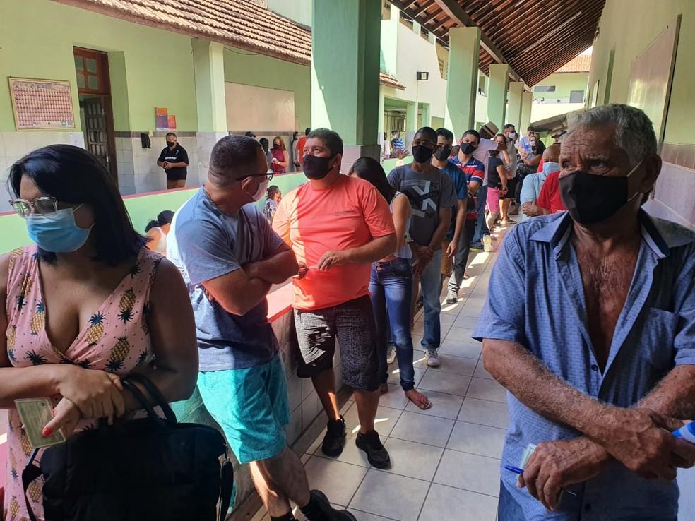 Maior parte dos eleitores de Fortaleza afirma que vai às urnas no segundo turno — Foto: Kilvia Muniz/SVM