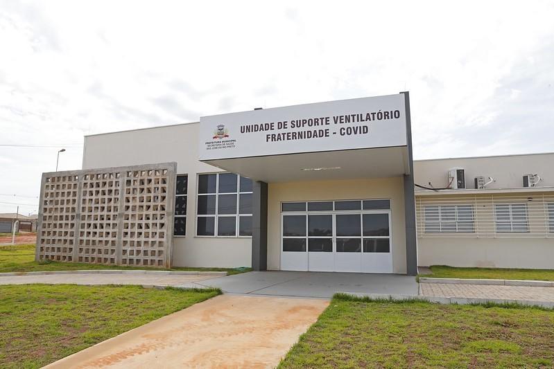 Nova unidade para atender pacientes com casos graves e moderados da Covid-19 é inaugurada em Rio Preto