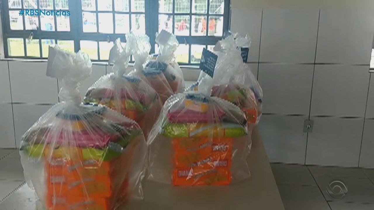 Iniciativas solidárias de doação de alimentos ajudam a população no RS