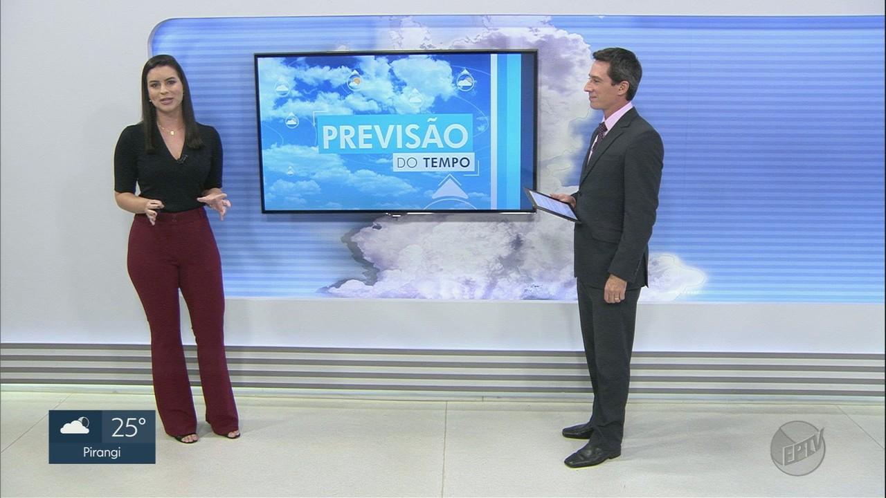Veja a previsão do tempo para este sábado (20) na região de Ribeirão Preto