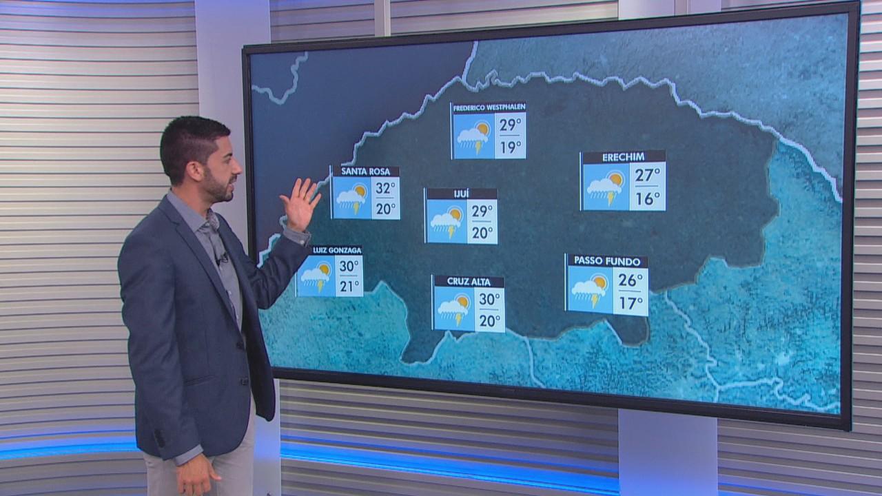 Chuva volumosa deve atingir cidades do RS neste domingo (24)