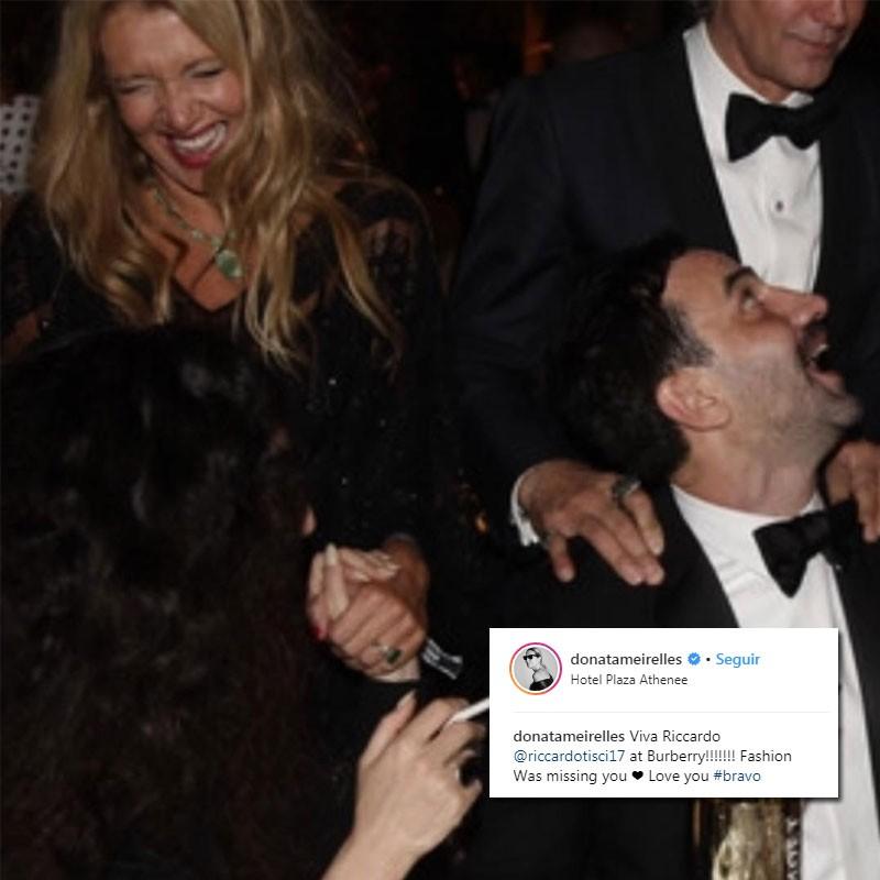 Fashionistas celebram ida de Riccardo Tisci à Burberry (Foto: Reprodução/Instagram)