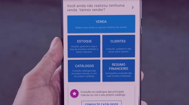 Revendoo é um aplicativo de gestão para vendedores porta a porta (Foto: Divulgação)