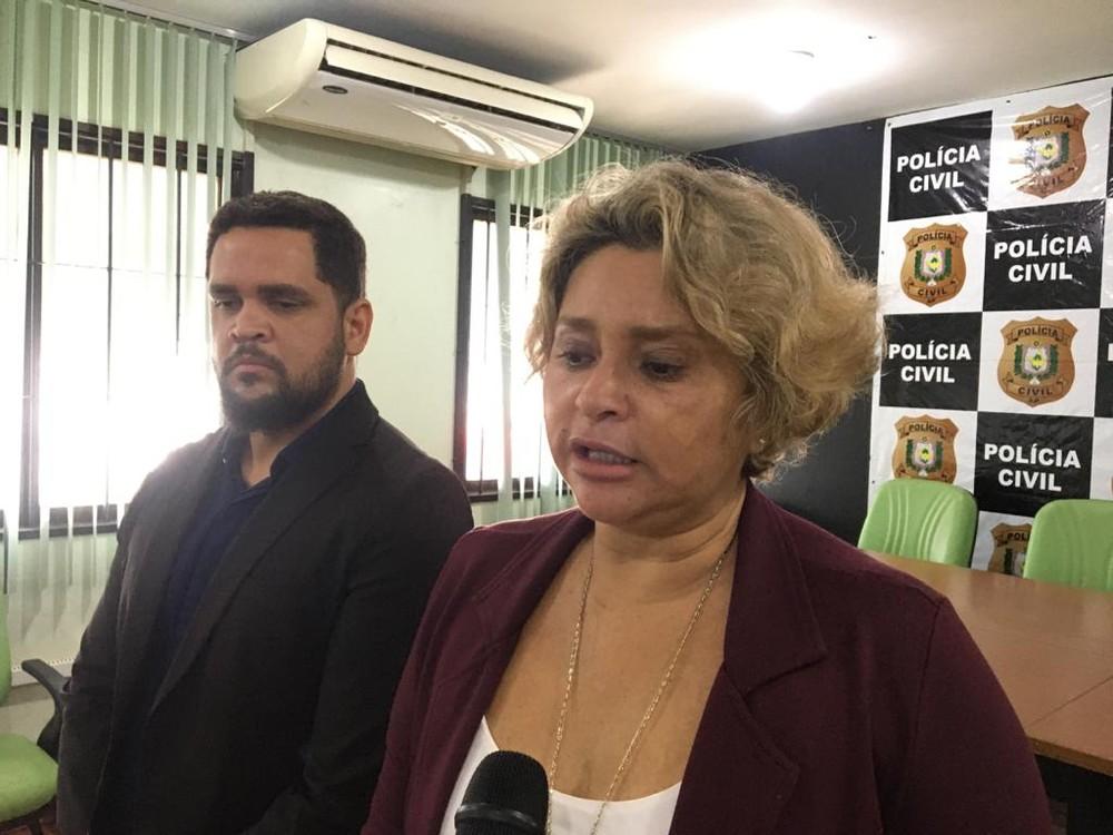 Delegada Luiza Maia da 2ª Delegacia de Santana — Foto: Caio Coutinho/G1