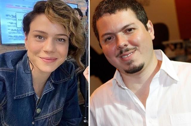 Leandra Leal e Bruno Safadi (Foto: Instagram e Fábio Rossi)