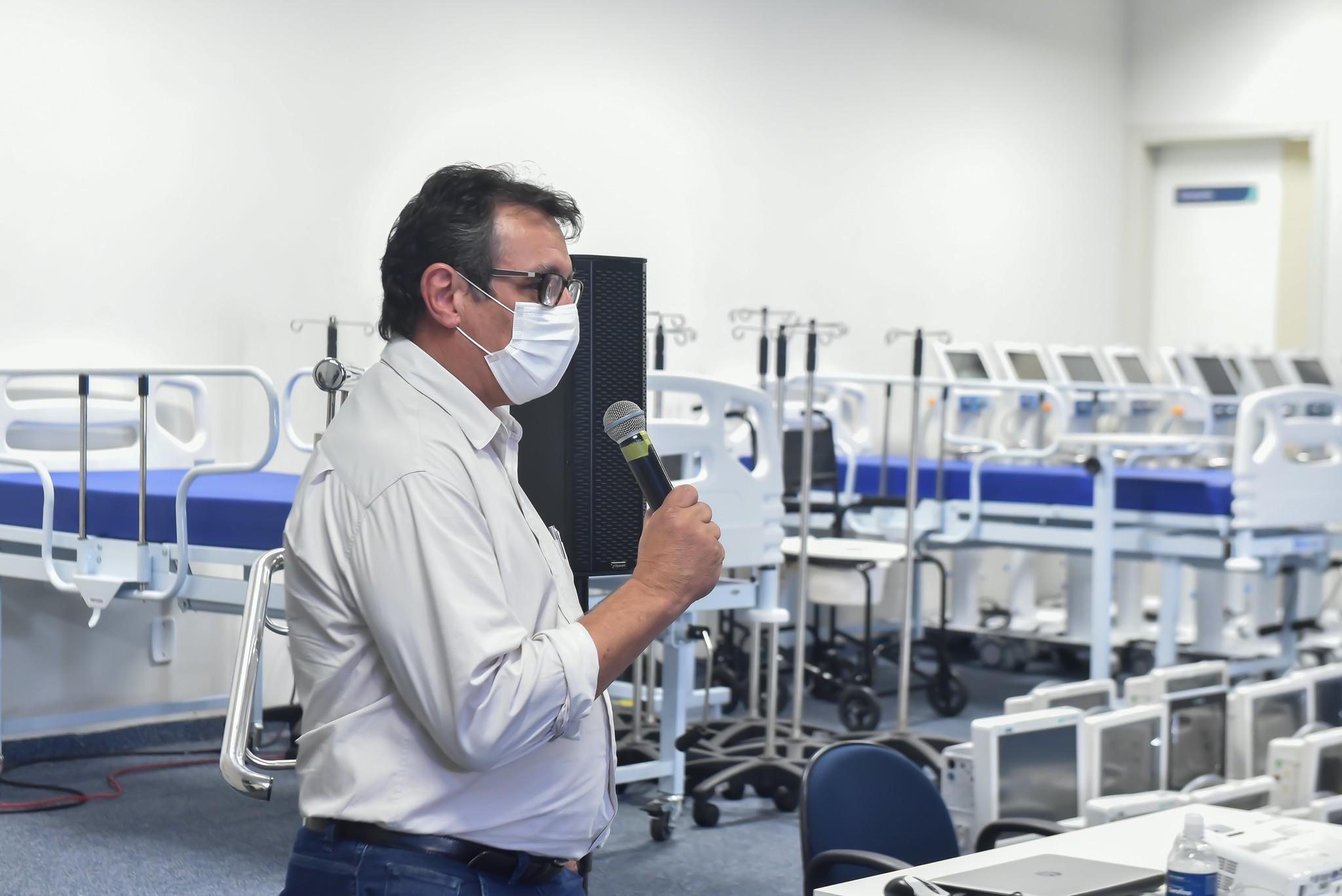 Covid-19: Comissão Parlamentar Processante ouve Sétimo Bóscolo, secretário de Saúde de Uberaba