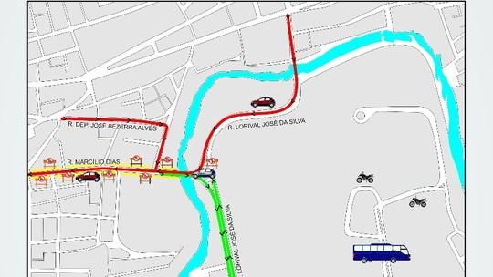 Trânsito no Parque 18 de maio será alterado a partir deste domingo (26)