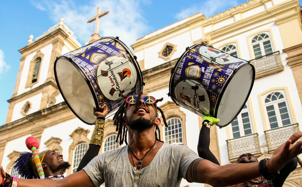 Secult abre seleção para contratações artísticas do carnaval do Pelourinho — Foto: Alexandra Martins Costa